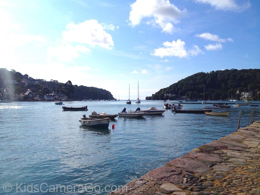 early morning at Dartmouth Harbour